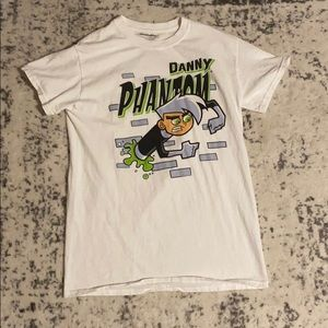 White Danny Phantom shirt